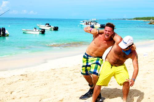 bachelor games bahamas
