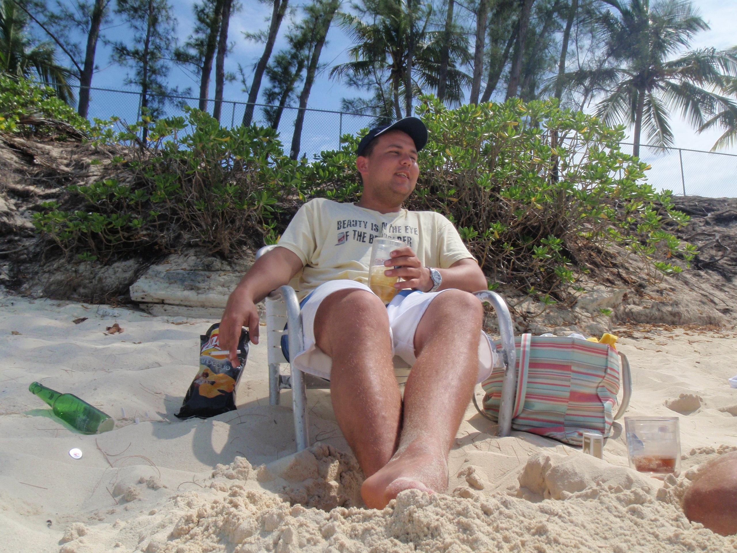 beach tourist bahamas