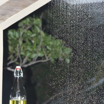 villa outdoor shower